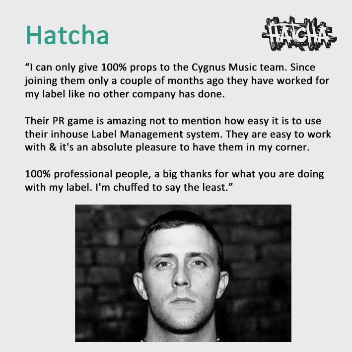 DJ Hatcha Testimonial